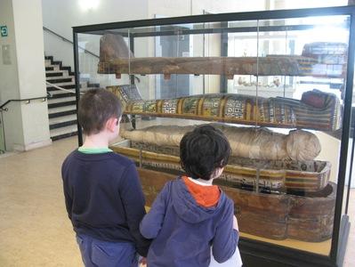 Sarcophages et momies